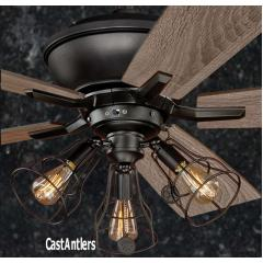 Standard Size Rustic Ceiling Fans