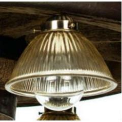 "Replacement Glass for 30"" or 42""  Downlight Reproduction/Cast Wagon Wheel Chandelier"