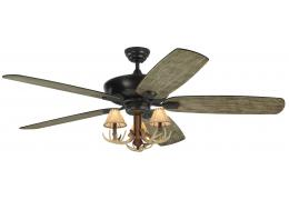 Rustic lodge ceiling fans antler ceiling fans castantlers 60 3 light antler ceiling fan light blades indooroutdoor aloadofball Image collections
