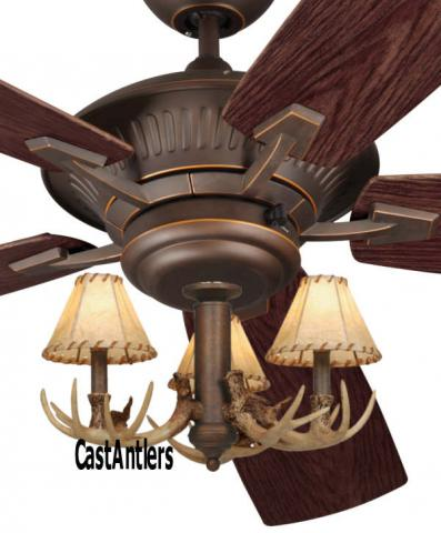 Outdoor Lighting 60 Quot Cyclone 3 Light Antler Indoor