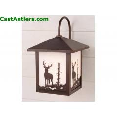 8in Outdoor Wall Light (Deer)