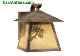 8in Outdoor Wall Light Old World Patina