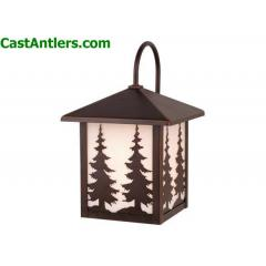8in Outdoor Wall Light (Trees)