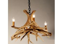 Mule Deer 4 Cast Antler Chandelier