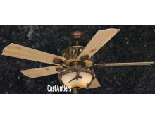 52 inch Weathered Patina Ceiling Fan