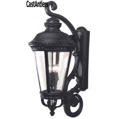 4 Light Castle Outdoor Wall Lantern