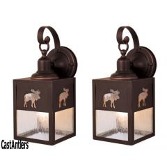 5in Outdoor Wall Light (Moose) -- price is per pair
