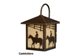 8in Outdoor Wall Light (Horse)
