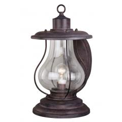 "17"" Outdoor Rustic Finish Western Lantern Wall Mounted Light Sconce"