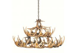 Whitetail 30 Cast Antler Chandelier