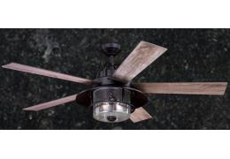 Lake Home Rustic Nautical Indoor/Outdoor Ceiling Fan