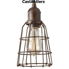 Industrial Light Pendant - Parisian Bronze