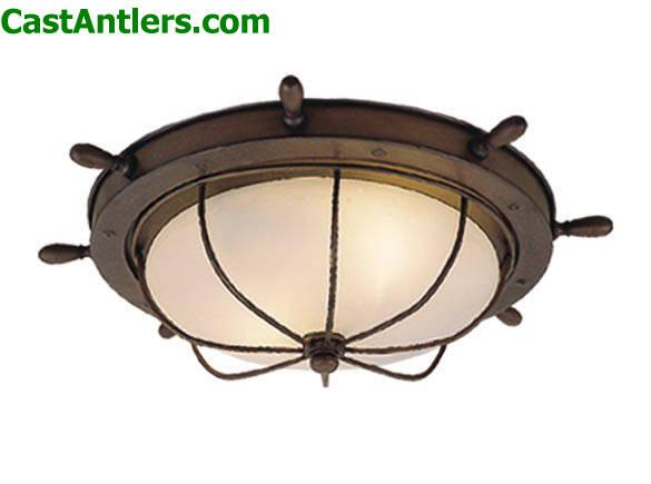 Outdoor Lighting - Nautical Outdoor Ceiling Light : Rustic Lighting and Decor from CastAntlers