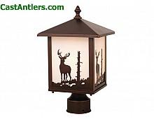 Outdoor Post Light (Deer)
