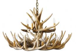 Whitetail 15 Cast Cascade Antler Chandelier