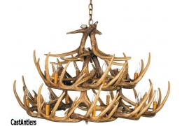 Whitetail 24 Cast Antler Chandelier