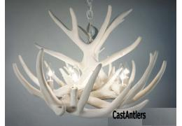 **Pure White** Whitetail 9 Cast Cascade