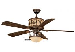"56"" Yukon Ceiling  Fan w/ Light Kit"