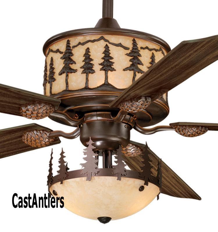 Standard Size Fans 56 Quot Yukon Ceiling Fan W Light Kit