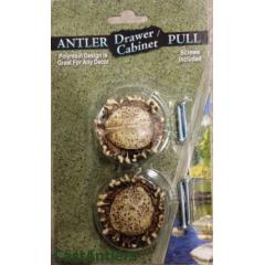 2pk  Faux Antler Drawer Cabinet Knobs (6 pack will be 12 knobs total)