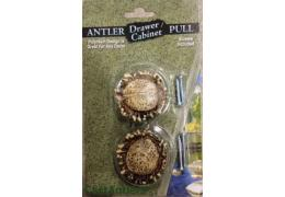 2pk  Faux Antler Drawer Cabinet Knobs