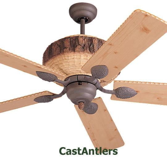 lodge ceiling fan hampton bay 52 standard size fans