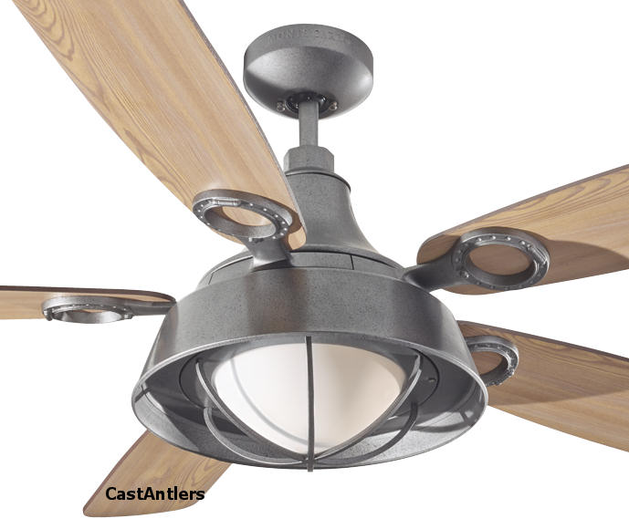 Outdoor Lighting 52 Cage Downlight Rustic Ceiling Fan