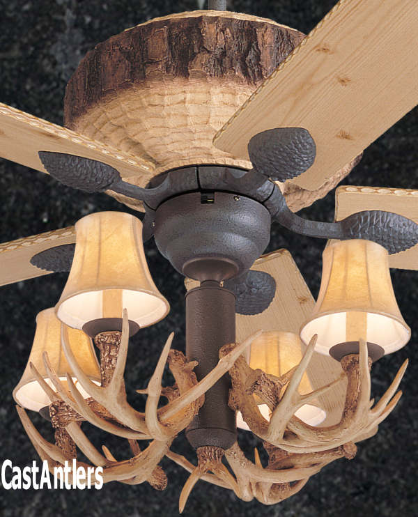 Standard size fans 52 rustic faux antler lodge ceiling fan 52 rustic faux antler lodge ceiling fan aloadofball Images