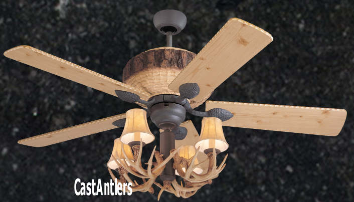 Standard size fans 52 rustic faux antler lodge ceiling fan 52 rustic faux antler lodge ceiling fan aloadofball Image collections
