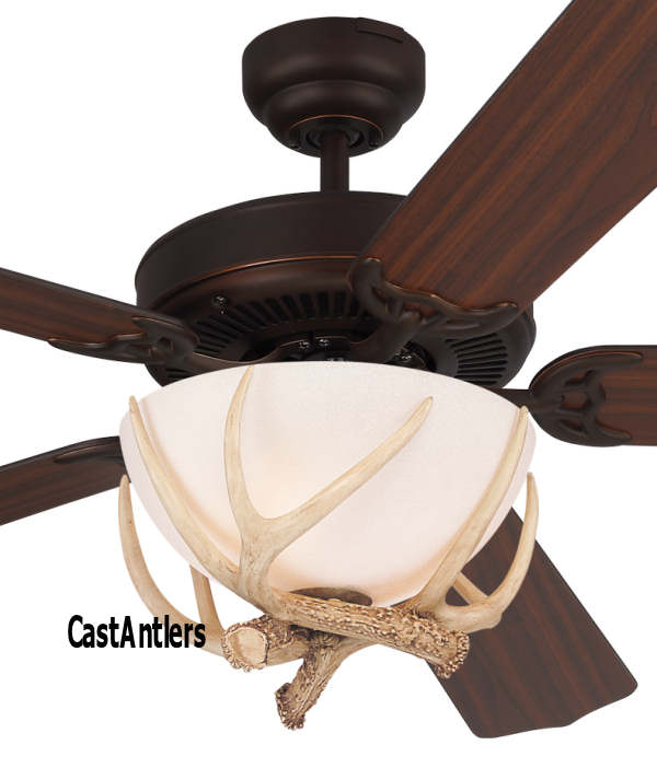 Standard size fans 52 rustic dakota faux antler ceiling fan 52 rustic dakota faux antler ceiling fan aloadofball Choice Image