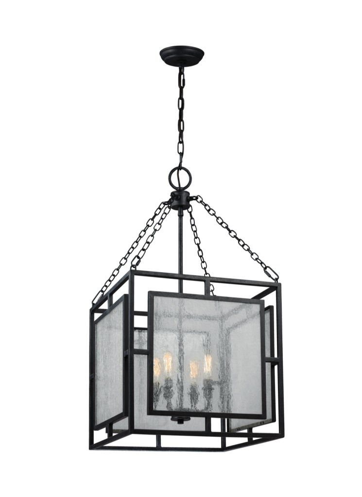 4 light geometric weathered zinc modern rustic pendant chandelier 4 light geometric weathered zinc modern rustic pendant chandelier aloadofball Image collections