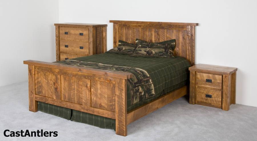 Barn Bedroom Furniture Rustic Bedroom Sets Panel Barn