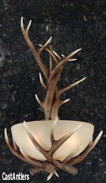 Rustic pendants 195 faux antler pendant rustic lighting and 195 faux antler pendant aloadofball Gallery