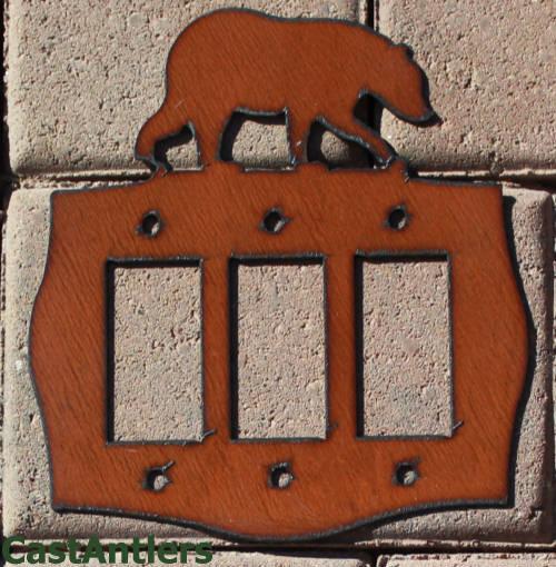 Bear Rocker Switch Plate Covers