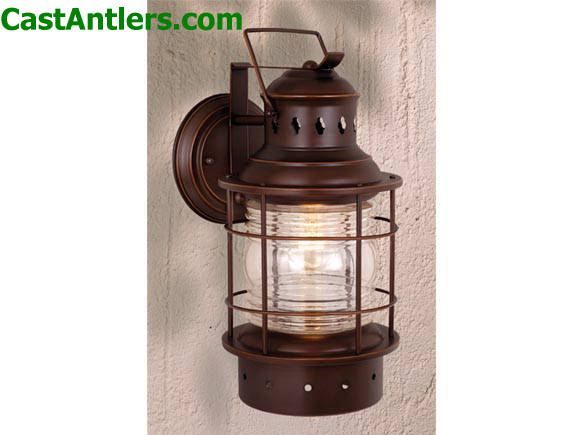 Nautical 8in Outdoor Wall Light. Hover To Zoom