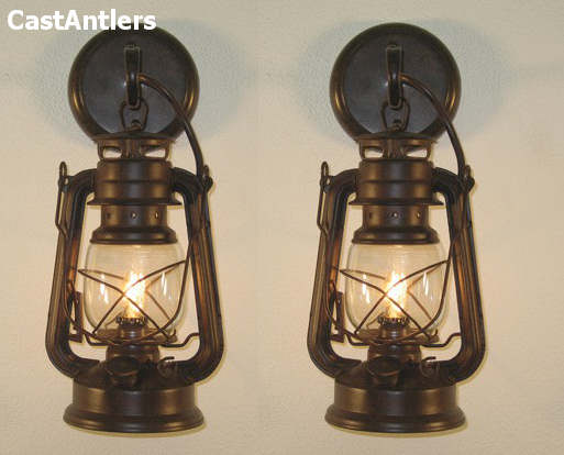 Small Rustic Lantern Wall Sconce Price Is For 2 Sconces