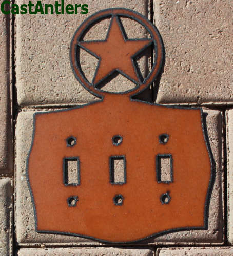 Star Toggle Switch Plate Covers