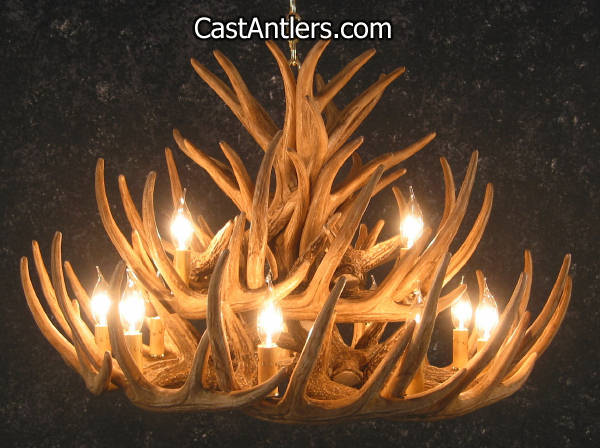 Antler chandeliers whitetail 21 cast cascade antler chandelier whitetail 21 cast cascade antler chandelier aloadofball Image collections