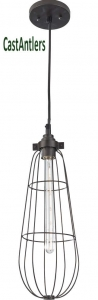 Industrial Light Pendant - Oil Rubbed Bronze