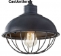 Industrial Light Pendant - Antique Iron