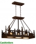 Klondike 3-Light Kitchen Island Light