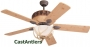 "52"" Reproduction Antler Dark Lodge Ceiling Fan"