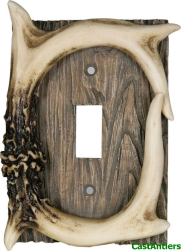 Antler Toggle Plate Cover