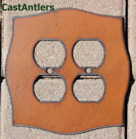 Rustic Receptacle Plate Covers