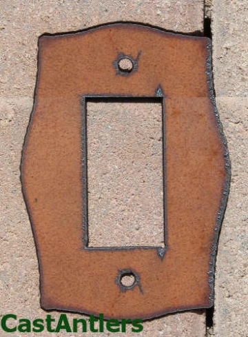 Plain Rocker Switch Plate Covers