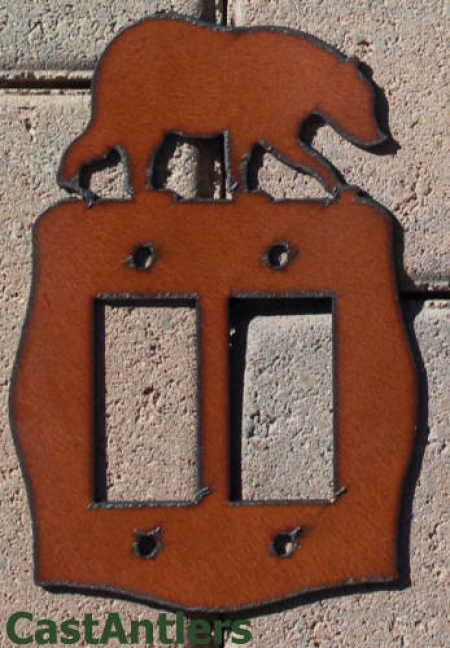 Bear Rocker Switch Plate Covers