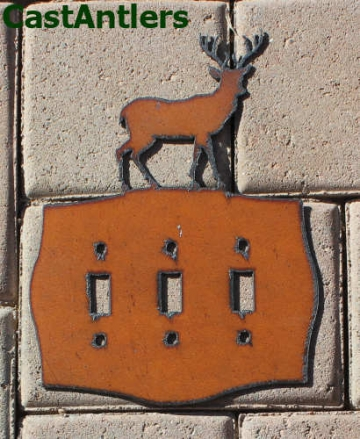 Deer Toggle Switch Plate Covers