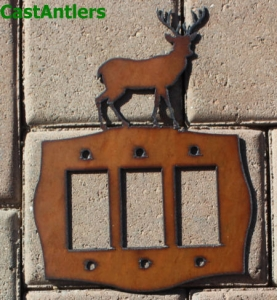 Deer Rocker Switch Plate Covers