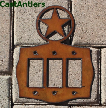 Star Rocker Switch Plate Covers