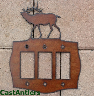 Elk Rocker Switch Plate Covers